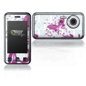 Design Skins for LG Renoir KC910   Pink Butterfly Design