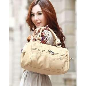 Faux PU Leather Purse Shoulder Bag Handbag Tote Satchel Messenger Lock