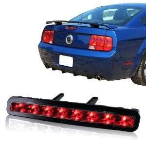Ford Mustang Chrome Housing LED 3rd Third Brake Stop Light Automotive