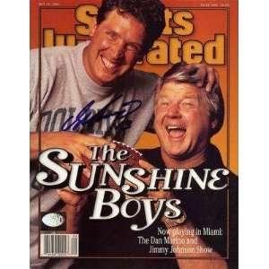 Signed 1996 Sports Illustrated Marino Holo   Autographed NFL Magazines