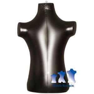 Inflatable Mannequin, Child Torso, Black