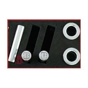 Mercedes Benz Brabus Metal Chrome Door Pins: Automotive
