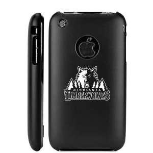 Apple iPhone 3G 3GS Black Aluminum Metal Case Minnesota