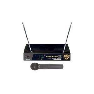 Nady ENCORE2 HT G1 1 Channel DigiTRU Diversity VHF Wireless Microphone