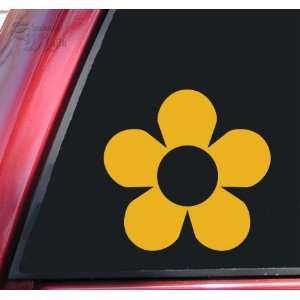 Flower #2 Vinyl Decal Sticker   Mustard Automotive