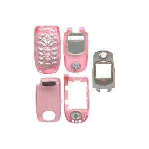 Clear Pink Full Housing for Nextel i730 Home & Kitchen