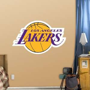 NBA Los Angeles Lakers Logo Vinyl Wall Graphic Decal Sticker