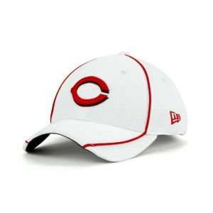 Reds New Era MLB Batting Practice White Cap Hat