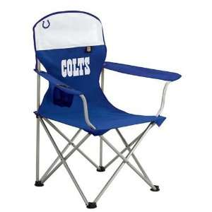 Indianapolis Colts NFL Deluxe Folding Arm Chair