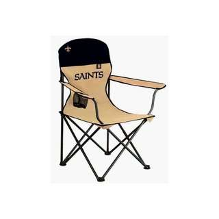 New Orleans Saints NFL Deluxe Folding Arm Chair from NorthPole Limited