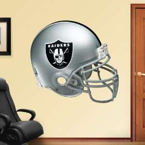 NFL Oakland Raiders Helmet Vinyl Wall Graphic Decal Sticker Poster