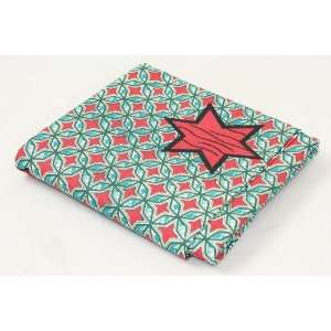 Star Pattern Fabric  Red