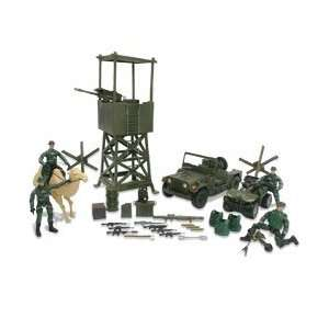 : World Peacekeepers Tower, Vehicles and Action Figures: Toys & Games