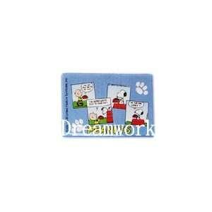 Peanuts Snoopy & Charlie Brown Blue Credit Card ID License