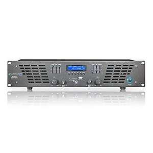2RU Professional 2 Channel Power Amplifier, 5000 Watts Electronics