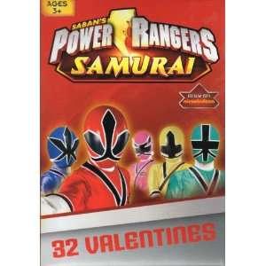 Power Rangers Samurai Valentine Cards for Kids (84128370