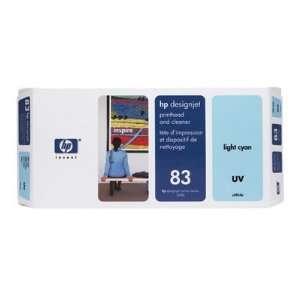 Hewlett Packard 83 Uv Printhead Cleaner Light Cyan Ink Not