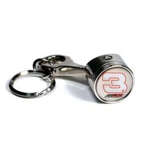 Dale Earnhardt #3 NASCAR Set of Two Piston Key Chains
