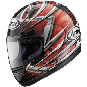 Arai Quantum 2 Motorcycle Helmet Spike   Red Automotive