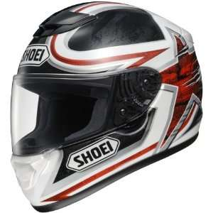 Shoei Qwest Graphic Motorcycle Helmet   Ethereal TC 1 Red
