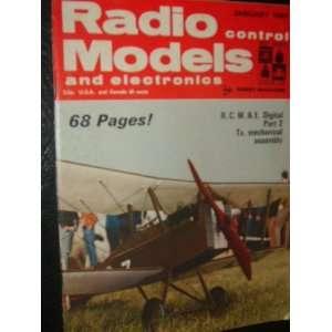 Radio Models and Electronics Magazine (January, 1969