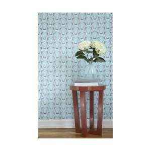 Blue & Coral Red Designer Removable Wallpaper: Everything Else
