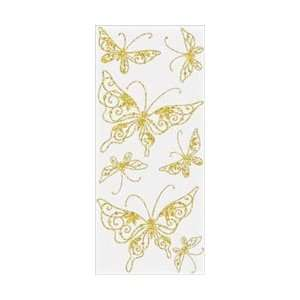 Stampendous Class Apeels Stickers Rhinestone Butterfly