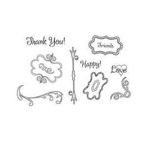 Unity Stamp   Unmounted Rubber Stamp   Twisted Metal Arts