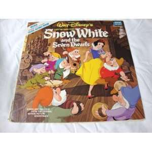 com Walt Disneys Snow White and the Seven Dwarfs Vinyl Record Books
