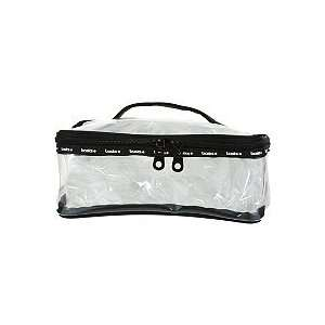 Clear Train Case Cosmetic Bag Beauty