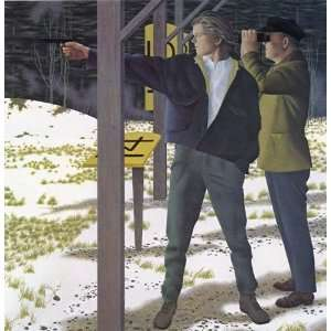 Alex Colville   Target Shooting Giclee on Paper