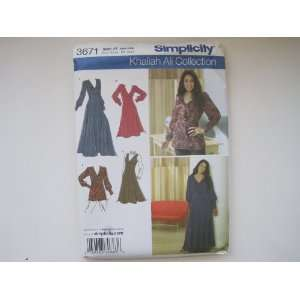 Simplicity Pattern 3671 Womens/Womens Petite Dress
