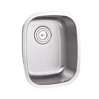 Single Bowl Kitchen / Bar / Prep Sink   16 Gauge Free Accessories