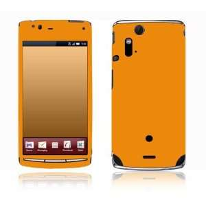 com Simply Orange Design Decorative Skin Cover Decal Sticker for Sony