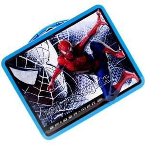 Spiderman Tin Lunch Box Bag Toys & Games