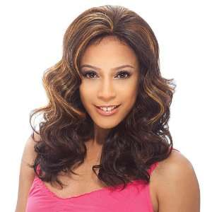 Model Model Synthetic Baby Hair Lace Front Wig   Flora 4