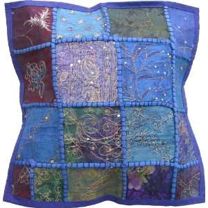 Decorative Throw Pillow Covers Hand Embroidered 121