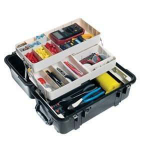 Pelican 1460TOOL Mobile Tool Chest   Black: Electronics
