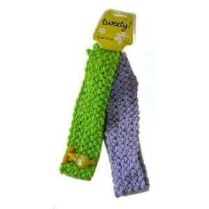 com Looney Tunes Tweety Bird Head Wrap   Green & Purple Toys & Games