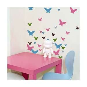 Flutterflies Butterflies Wall Stickers from Wall Candy Arts Baby