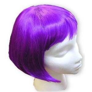Purple Colored Bob Wigs   Purple Wig