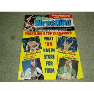 Sports Review Wrestling Magazine February 1989 Issue