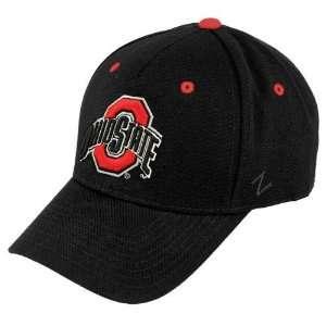 Zephyr Ohio State Buckeyes Black ZHS Z Fit Hat  Sports