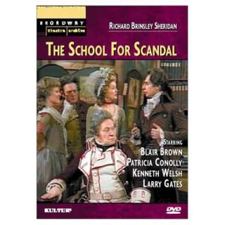 The School for Scandal (Broadway Theatre Archive) Bernard