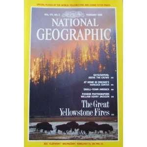 Magazine February 1989 The Great Yellowstone Fires