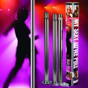 My Sexy Little Pole Dance Kit   Stainless Steel: Sports & Outdoors