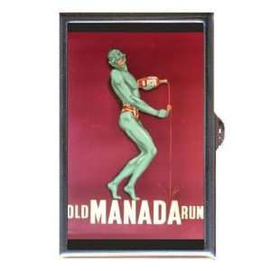 Rum Retro Poster Bad Green Man Coin, Mint or Pill Box
