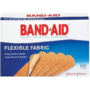 Johnson & Johnson Flexible Fabric Adhesive Bandages, 1 x 3