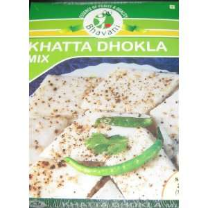 Bhavani Khatta Dhokla Mix 7oz: Grocery & Gourmet Food