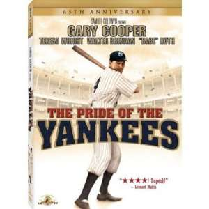 The Pride of the Yankees   65th Anniversary Edition   DVD